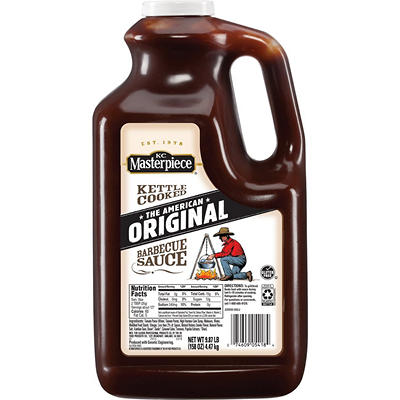KC Masterpiece® Original BBQ Sauce - 158 oz.
