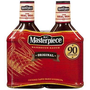 KC Masterpiece® Original BBQ Sauce - 45 oz. - 2 pk.