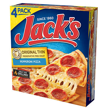 Jack's® Original Pepperoni Pizza - 16.5 oz. - 4 ct.