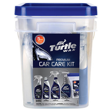 Turtle Wax Ice Premium Car Care Kit