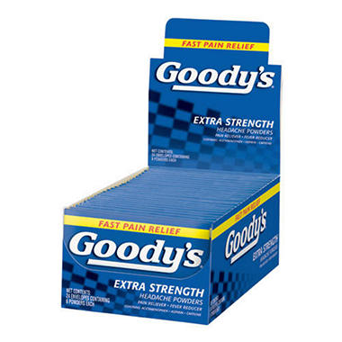 Goody's� Headache Powders - 24 envelopes