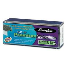 Swingline - S.F. 4 Premium Chisel Point 210 Count Full-Strip Staples -  5000/Box