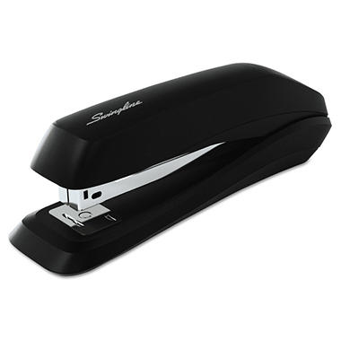Swingline Standard Strip Desk Stapler, 15-Sheet Capacity, Black