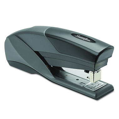 Swingline - Light Touch Reduced Effort Full Strip Stapler, 20-Sheet Capacity -  Black
