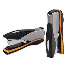 Swingline - Optima Desktop Staplers, Full Strip, 40-Sheet Capacity -  Silver/Black/Orange