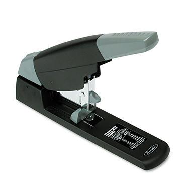 Swingline High-Capacity Heavy-Duty Stapler, 210-Sheet Capacity, Black/Gray