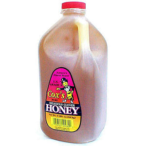 Cox's Delicious Honey - 5 lb. (80 oz.) jug