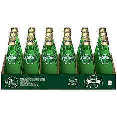 Perrier Sparkling Natural Mineral Water (11 oz. bottles, 24 ct.)