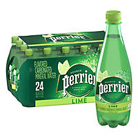 Perrier Sparkling Natural Mineral Water, Citron Lemon-Lime (16.9 oz. bottles., 24 ct.)