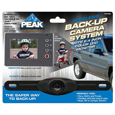 "PEAK® 2.4"" Back-Up Camera"