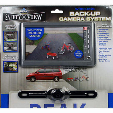 Safety View Wireless Back-Up Camera System