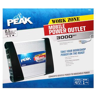 PEAK - 3000 Watt - Mobile Power Inverter