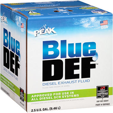 BlueDEF Diesel Exhaust Fluid - 2.5 gal.