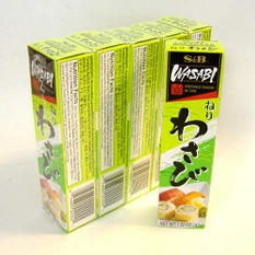 S&B Wasabi in Tube 5 Pack - 1.52oz.