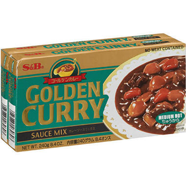 S&B� Golden Curry� Sauce Mix - 2/8.4oz