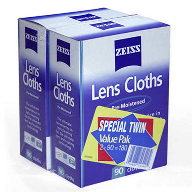 Zeiss Lens Cloths - 2/ 90 pk.