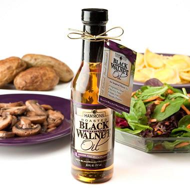Hammons Gourmet Roasted Black Walnut Oil - 2 / 8 oz. Bottles