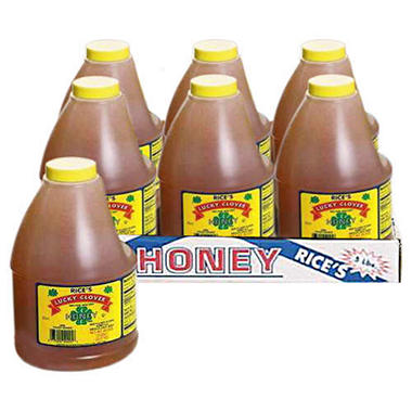Rice's Lucky Clover Honey - 1/5 lb. jug