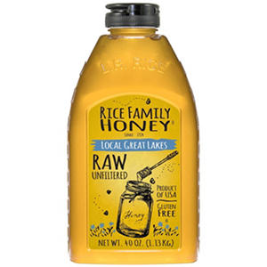 Rice Family Local Great Lakes Honey (40 oz.)