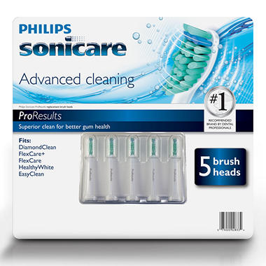 Philips Sonicare ProResults Brush Head - 5 pk.