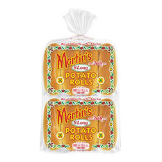 Martin's Potato Long Roll - 2/8 pks.