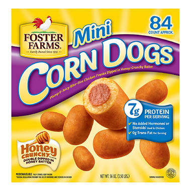 Foster Farms® Mini Corn Dogs - 82 ct.