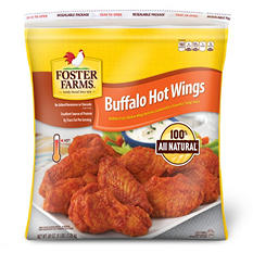 Foster Farms Buffalo Hot Wings (5 lb.)