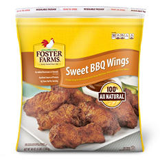 Foster Farms Sweet BBQ Wings (5 lb.)