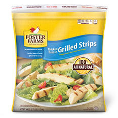 Foster Farms Grilled Chicken Breast Strips (2.75 lb.)