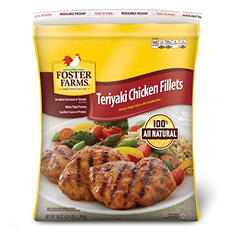 Foster Farms Teriyaki Thigh Fillets (3.5 lb.)