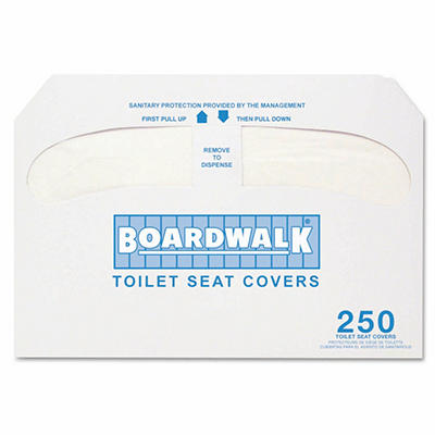 Premium Half-Fold Toilet Seat Covers - 5000 ct.