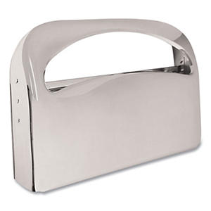 Boardwalk - Toilet Seat Cover Dispenser, 16 x 3 x 11 1/2 -  Chrome