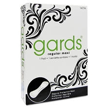 Gards #4 Maxi Pads - 250 Individually Boxed Napkins