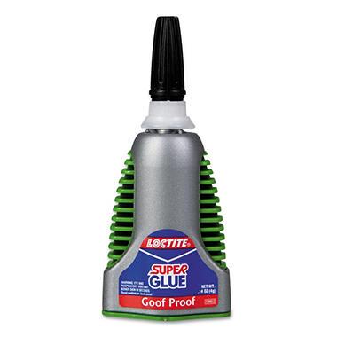 Loctite Super Glue Goof Proof - .14 oz.