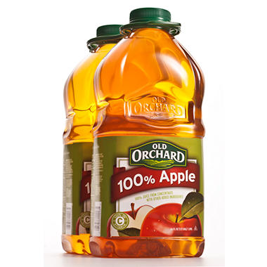 Old Orchard 100% Apple Juice - 64 oz. bottles - 2 pk.