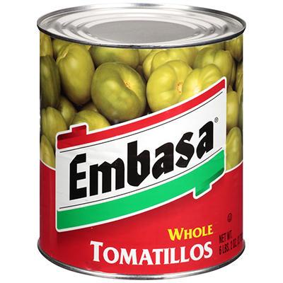 Embasa® Whole Tomatillos - 98 oz.