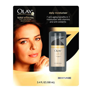 Olay Total Effects Anti-Aging Moisturizer - Regular - 3.4 oz.