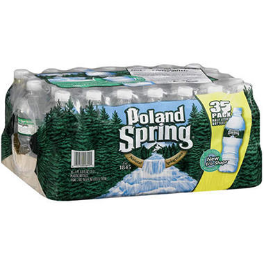 Poland Spring Natural Spring Water (16.9 oz. bottles, 35 pk.)