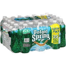 Poland Spring Natural Spring Water - 16.9 fl. oz. - 35 pk.