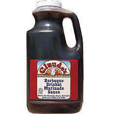 Claude's® BBQ Brisket Marinade Sauce - 64oz