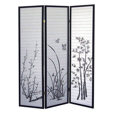 3 Panel Room Divider - Scenery