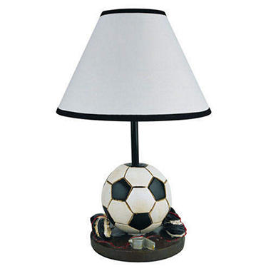 Accent Soccer Table Lamp