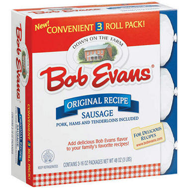 Bob Evans® Original Recipe Sausage - 16oz - 3 ct.