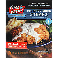 Fast Fixin' Country Fried Steaks with Gravy - 45.5 oz.