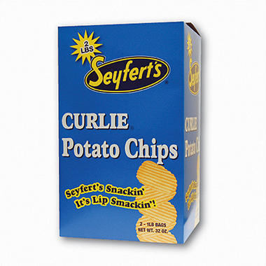 Seyferts Potato Chips - 1 lb. - 2 ct.