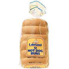 Lakeland Jumbo Coney Hot Dog Buns (16 oz., 2 pk.)