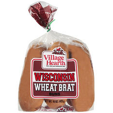 Wheat Brat Buns - 13 oz.