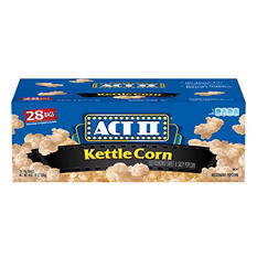 ACT II Kettle Corn Microwave Bags (28 ct.)
