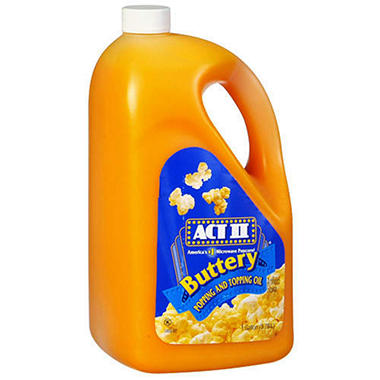 ACT II� Popping and Topping Oil - 1 gal. jug