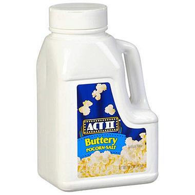 ACT II® Buttery Popcorn Salt - 3 lb. 4 oz. jug